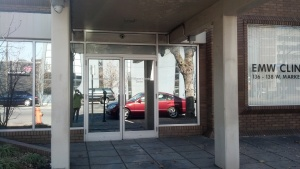 Front Door and Pillars