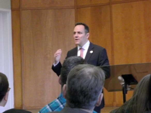 Governor Bevin Addressing Leadership Meeting OSA 020317