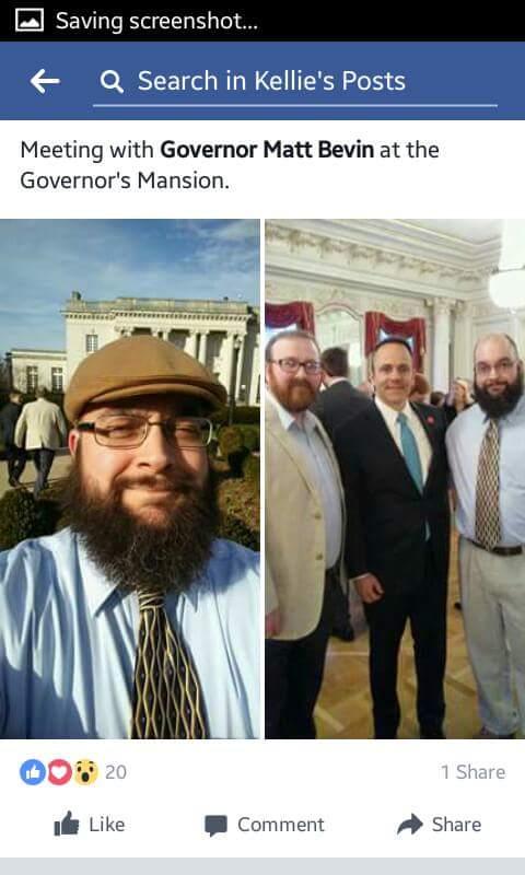 Joseph, Aaron, Mason meet Gov Bevin (2) 021417